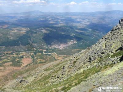 Gredos: Sierras del Cabezo y Centenera;las velas de pedraza barranca de burujon las presillas y la c